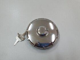Крышка топливного бака D=80 металлическая с ключами RVI