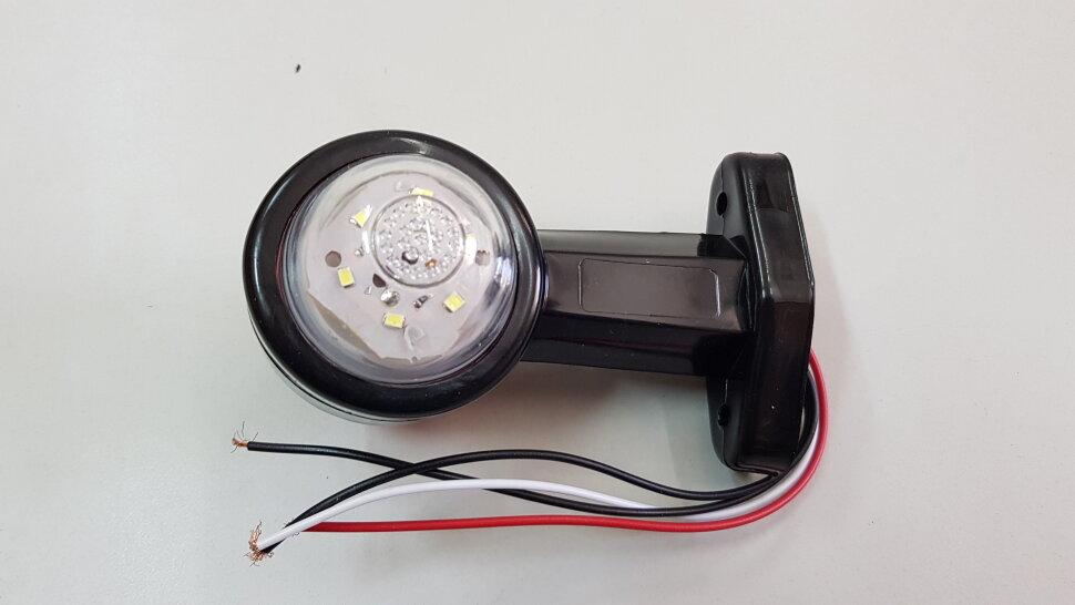 Рог прицепа прямой 130мм LED