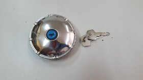 Крышка топливного бака D=60 метал. с ключами