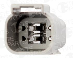 Разъем электрический 4 контакта (к 7804445)