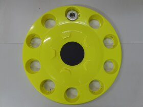Колпак колеса 22,5 на евродиск передний желтый флуоресцентный закрытый