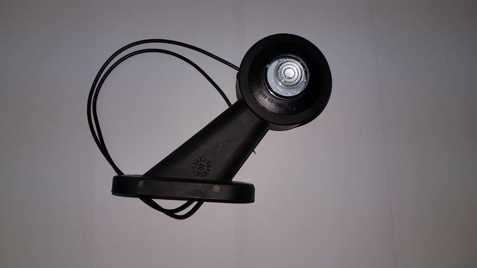 Рог прицепа прямой 100мм LED правый