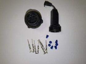 Разъём байонет AMP 7-pin вилка (папа)