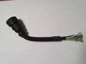 Разъём байонет AMP 7-pin мама собранный прямой