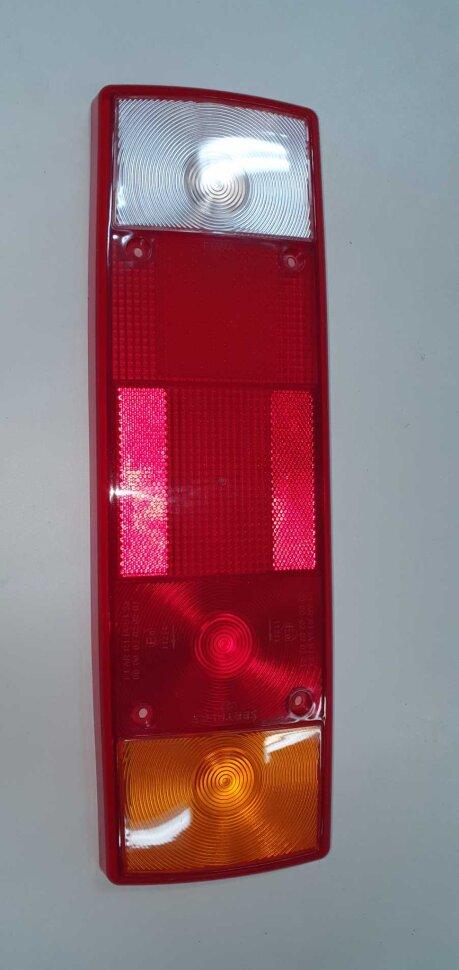 Стекло заднего фонаря 5-секционное универсальное
