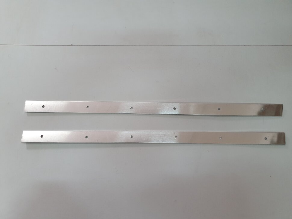 Планка для крепления брызговика 660x30 комплект 2шт.