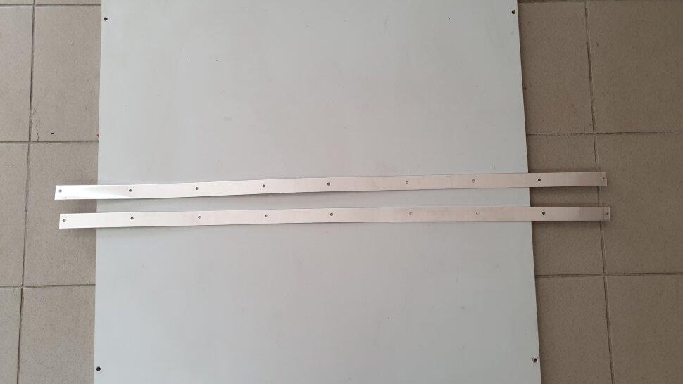 Планка для крепления брызговика 1200x30 комплект 2шт.