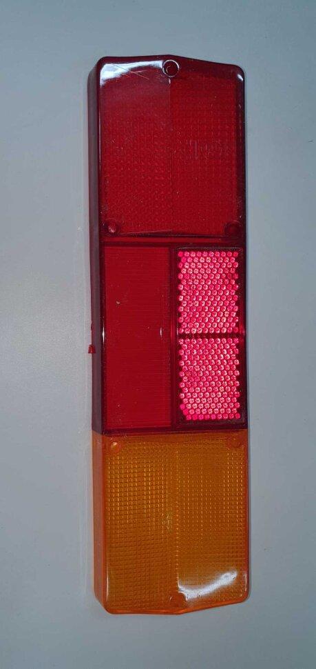 Стекло заднего фонаря КАМАЗ вогнутое правое