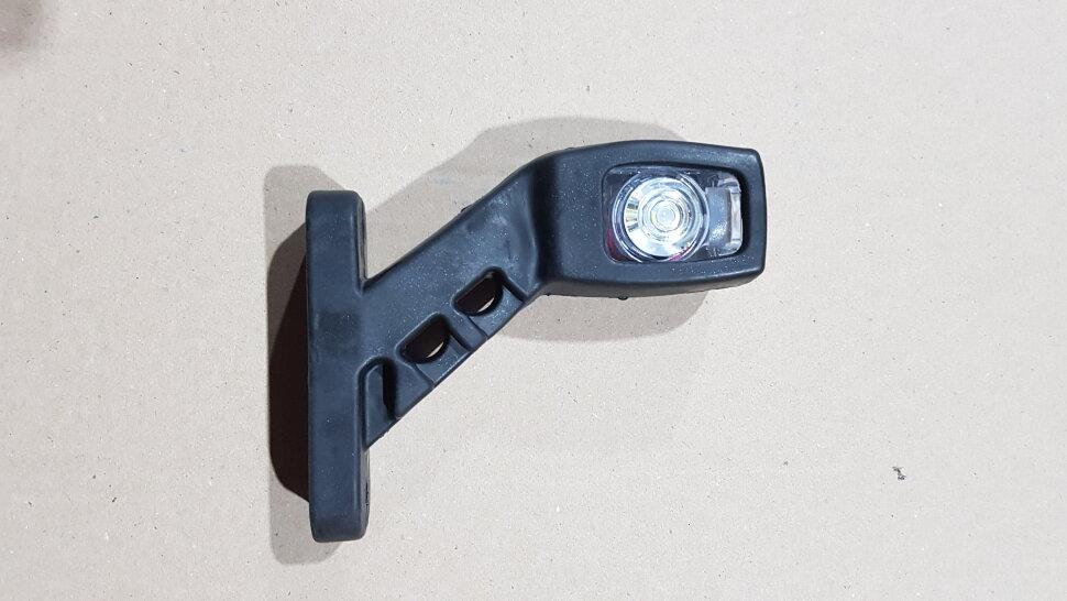Рог прицепа квадратный 135мм LED