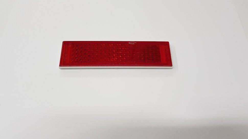 Светоотражатель на липучке красный узкий