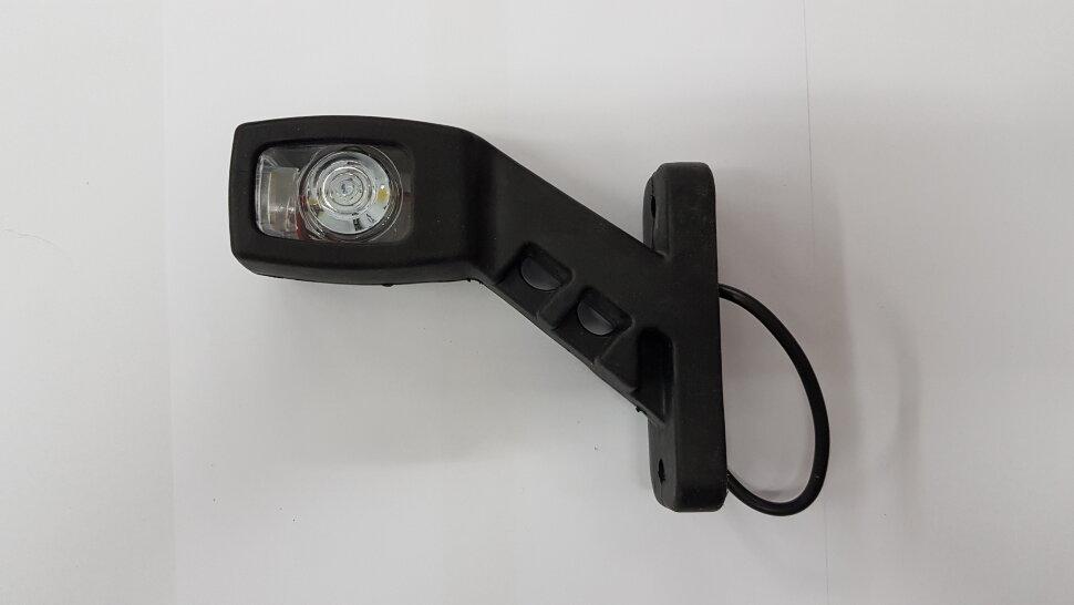 Рог прицепа квадратный 85мм LED