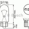 Лампочка 24V 2W T10 W2,1x9,5d приборная