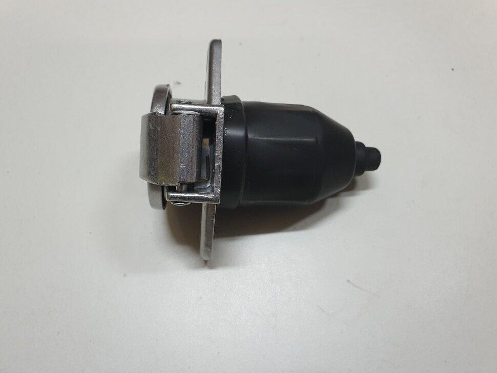 Электрическая розетка прицепа Type-S 7PIN алюм.