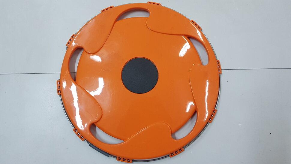 Колпак колеса 17,5 задний оранжевый