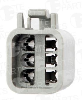 Разъем электрический 6-pin универсальный (к 7804463)