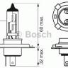 Лампа 24V H4 75/70W P43t