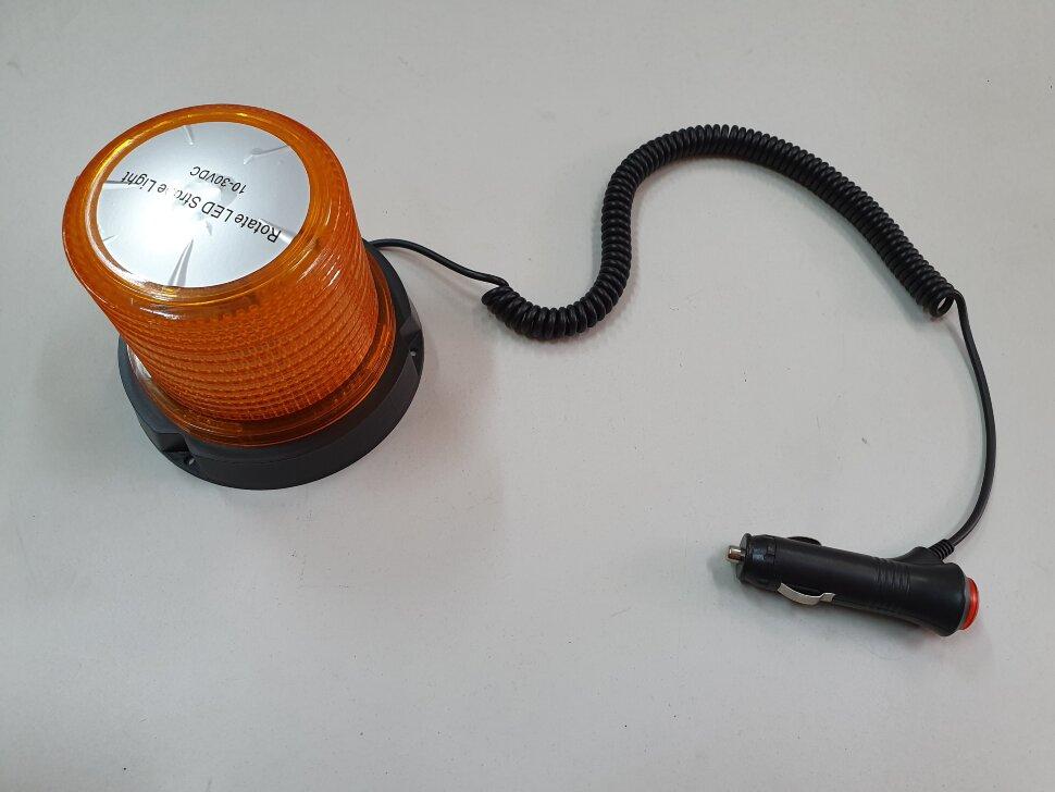 Маячок оранжевый LED стробоскоп H=110 D=122