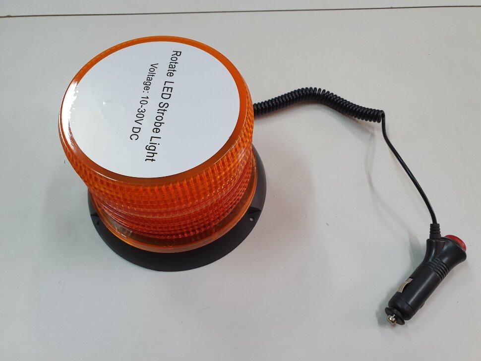 Маячок оранжевый LED стробоскоп H=115 D=130