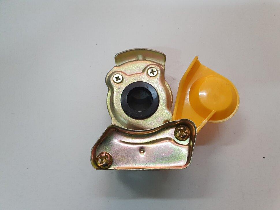 Пневматическое соединение желтое без клапана M16