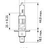 Лампа 24V H1 70W P14,5S