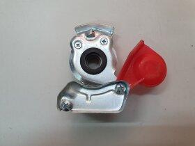 Пневматическое соединение красное без клапана M16