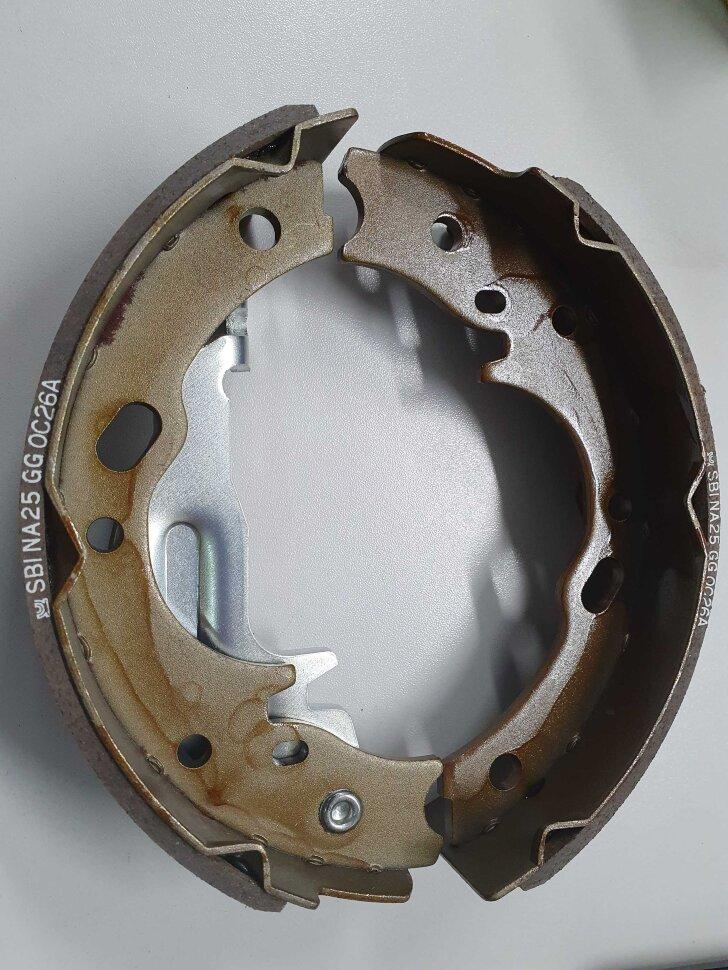 Колодки барабанные ручника HYUNDAI HD65/72/78