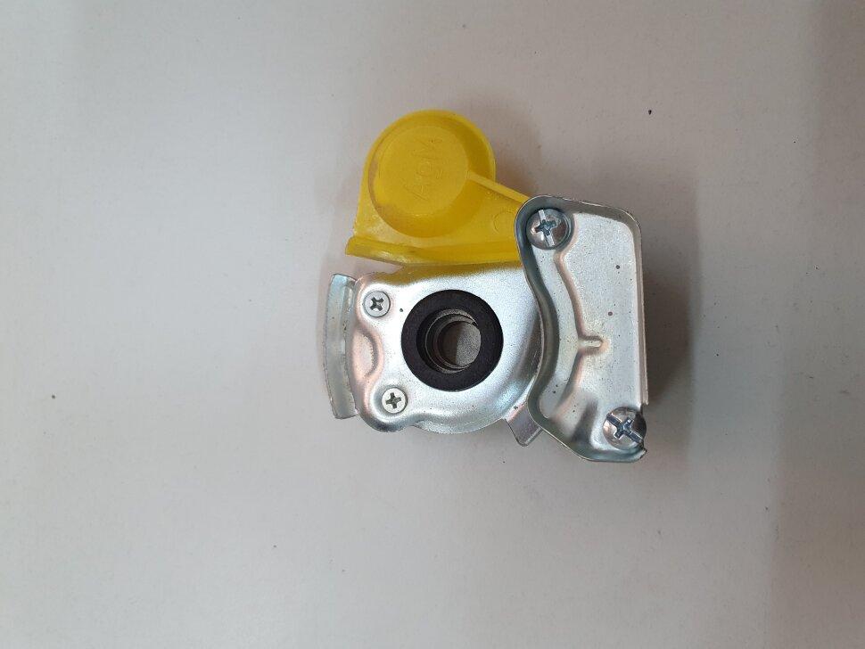 Пневматическое соединение желтое без клапана M22