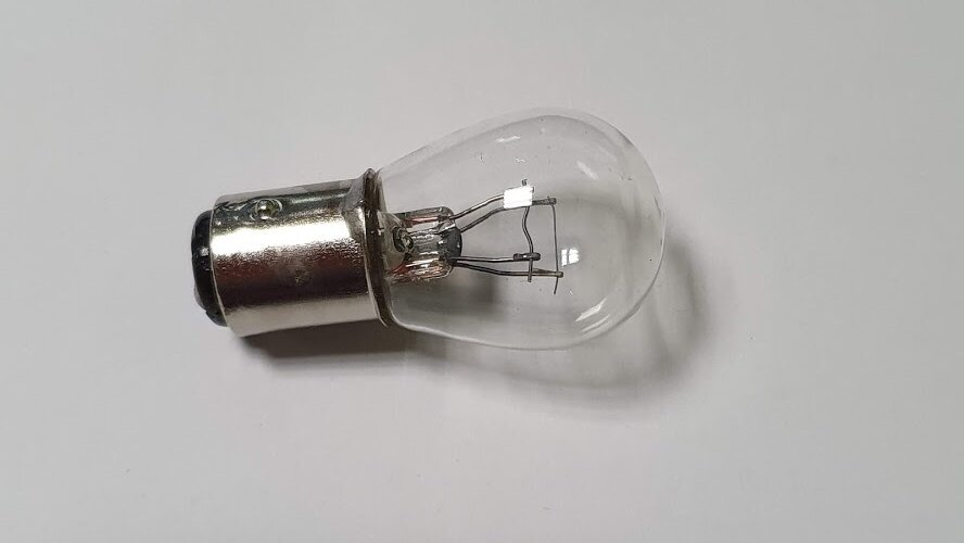 Лампа 24V P21/5W BAY15d