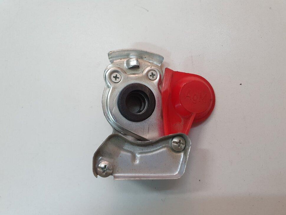 Пневматическое соединение красное без клапана M22