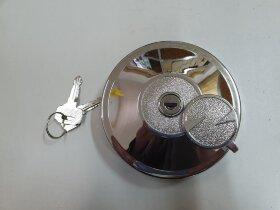 Крышка топливного бака 80 мм, метал. с ключами и защитой