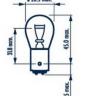 Лампа 24V P21/4W BAZ15d