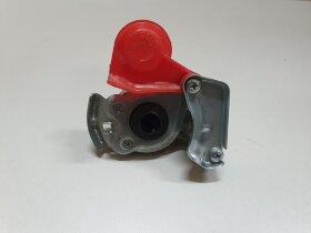 Пневматическое соединение красное с клапаном M22