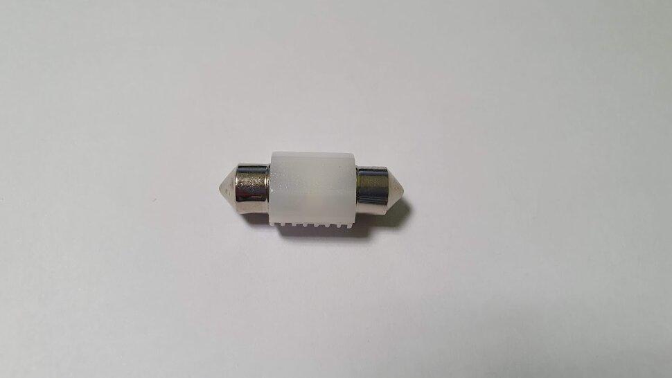 Лампа 24V C5W SV8,5-8 2LED