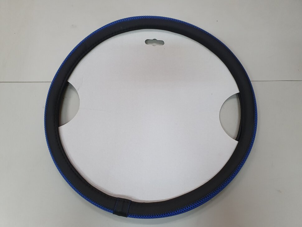 Оплетка на руль 46-48см SCANIA синяя