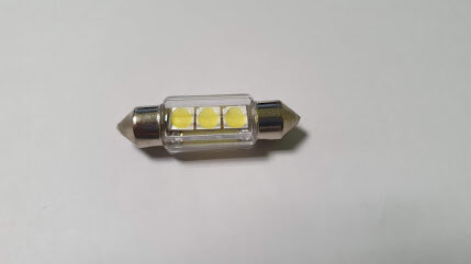 Лампа 24V C5W SV8,5-8 3LED