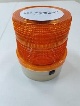 Маячок оранжевый LED36 стробоскоп автономный H=115 D=95