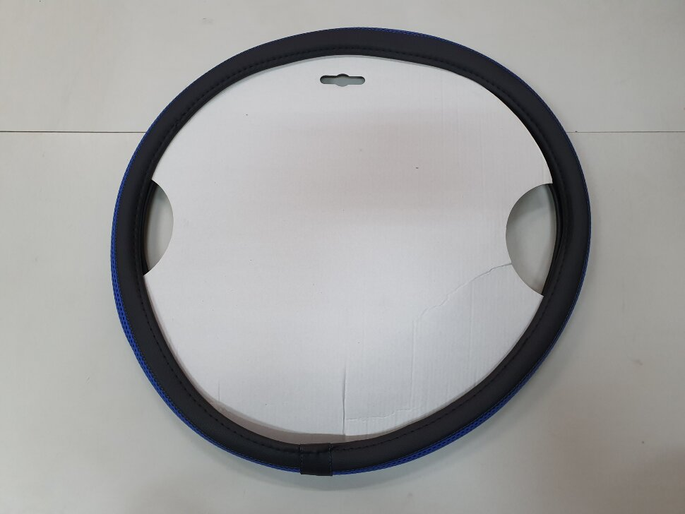 Оплетка на руль 49-51см МАЗ, КАМАЗ синяя
