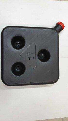 Бак топливный отопителя 10 литров черный