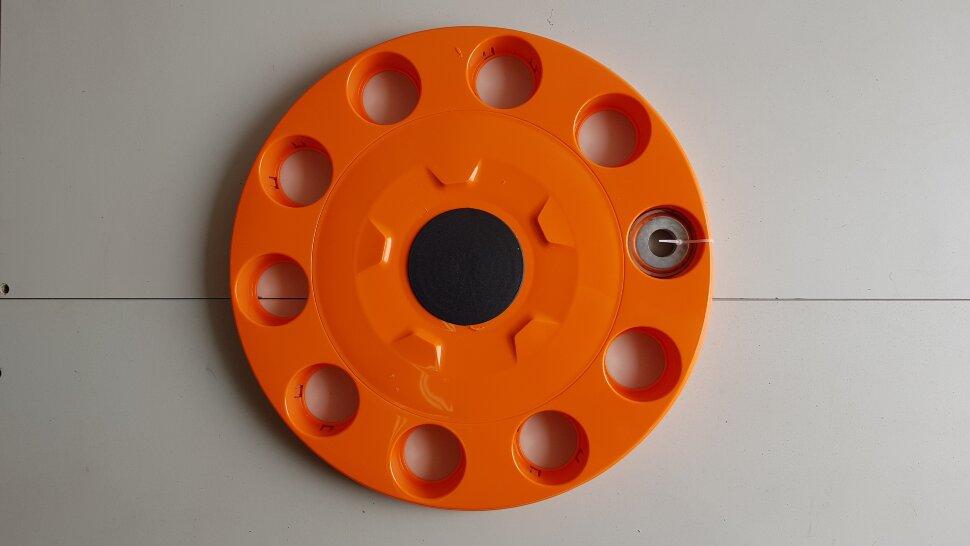 Колпак колеса 22,5 на евродиск передний оранжевый