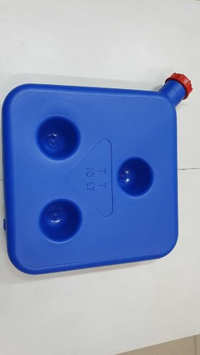 Бак топливный отопителя 10 литров синий