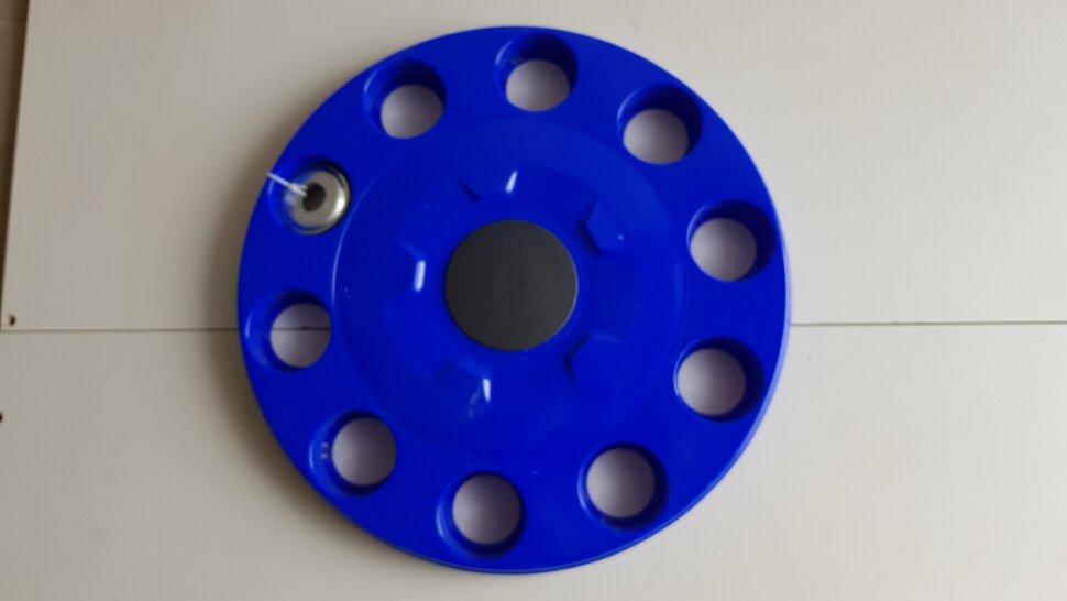Колпак колеса 22,5 на евродиск передний синий