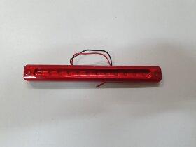 Фонарь габаритный красный L=180 12 LED