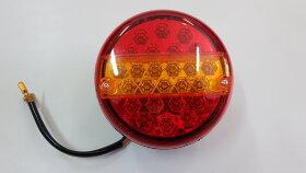Фонарь задний 3-секционный круглый LED правый