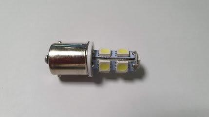 Лампа 24V R5W BA15s 9LED кукуруза