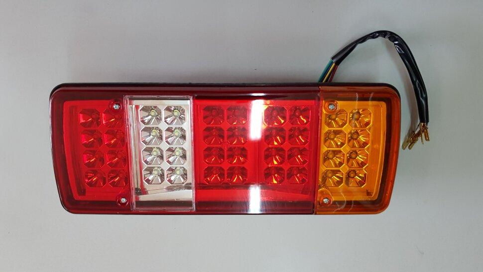 Фонарь задний 5-секционный LED правый VW-MAN