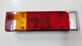 Фонарь задний 7-секционный с разъемом MAN левый