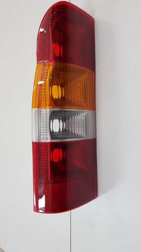 Фонарь задний FORD TRANSIT 2006-> левый с желтым стеклом