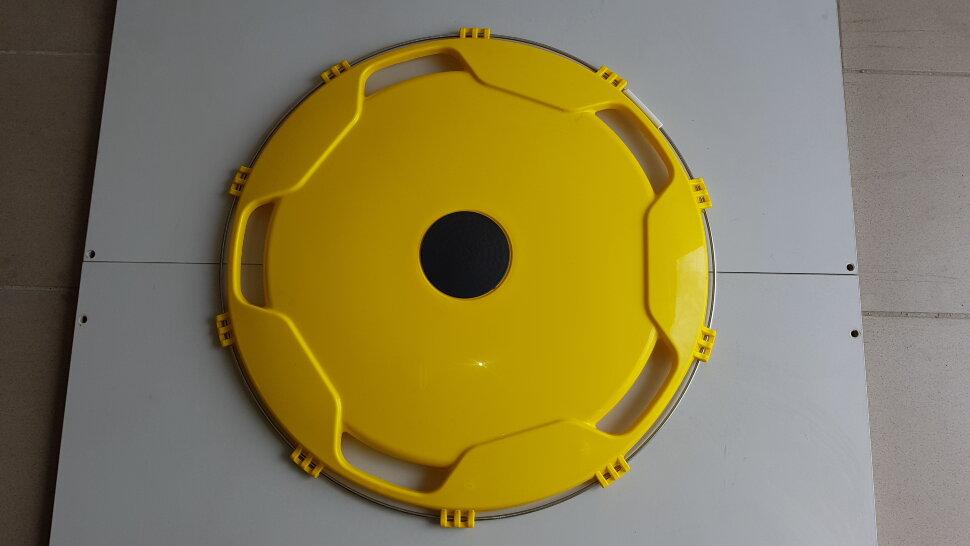 Колпак колеса 22,5 задний желтый