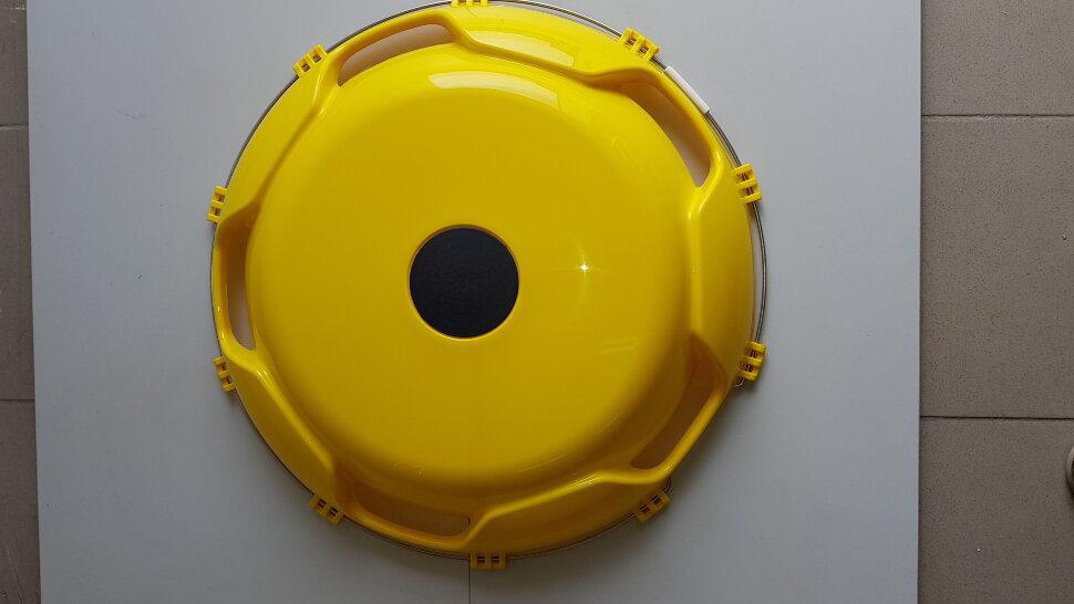 Колпак колеса 22,5 передний желтый