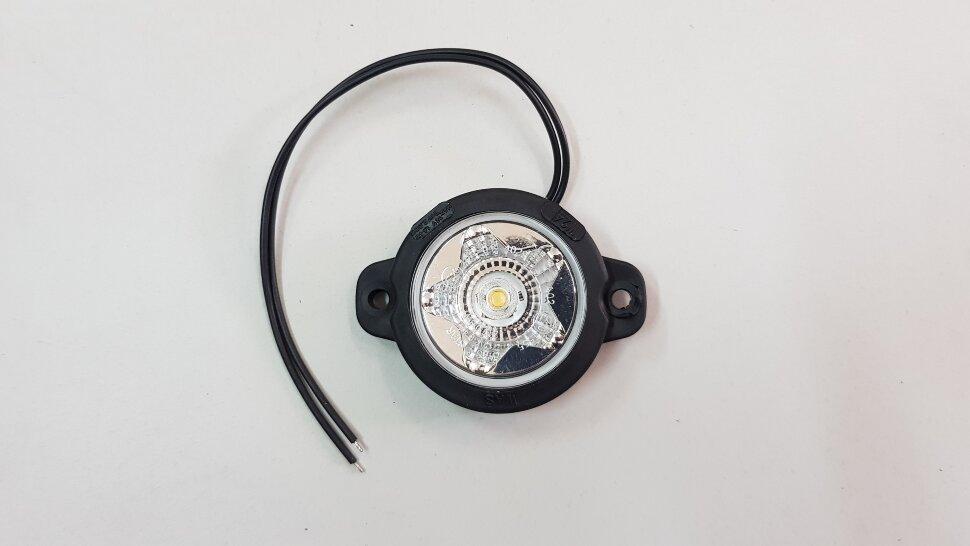 Фонарь габаритный белый LED звезда